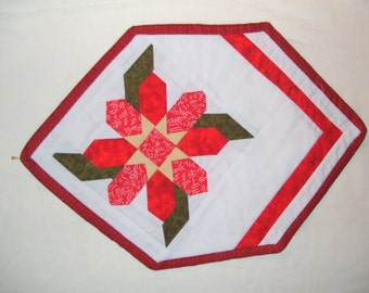 Red Table  place mat