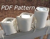 Zero Waste Mason Jar Nest PDF Pattern, divider for bulk shopping, bottles, jar lunches