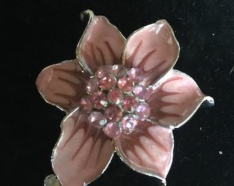 Beautiful Pink Brooch