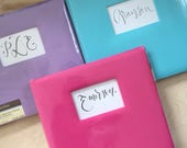 Gender Neutral Baby Book / Simple Baby Memory Book / Keepsake Book for Baby / Shower Gift / Baby Gift / Baby Scrapbook / Baby Girl