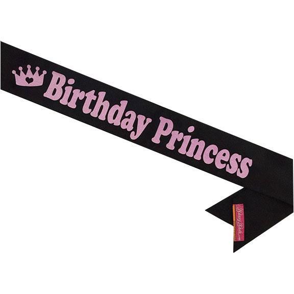 Birthday Princess Sash 21st Birthday 30th Birthday 50th