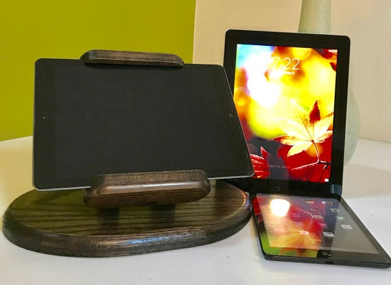 Universal Tilting Tablet Stand for Point of Sale / Ipads / Samsung Galaxy - Ebony Finish