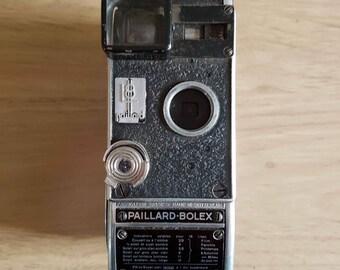 Vintage Paillard Bolex 8mm Movie Camera Model L8- 1945 plus 2 lenses