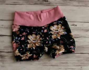 Toddler Shorts, Floral Shorts, Shorties, Bummies, Bubble Shorts, Baby Bloomers, Baby Shorts, Kid Shorts, Girl Shorties, Coming Home Outfit