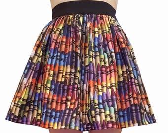 Crayons Full Skirt
