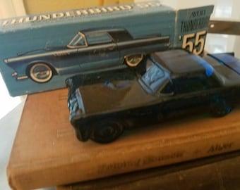 Avon thunderbird car, collectible 55