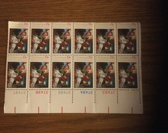 Vintage 13 Cent Christmas Postage Stamps
