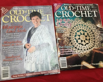 Old Time Crochet Magazine