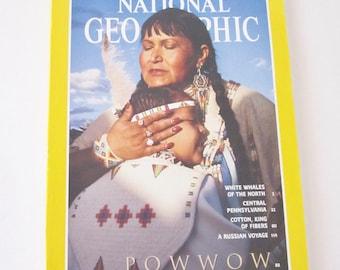NATIONAL GEOGRAPHIC MAGAZINE June 1994 Powwow
