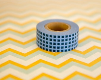 Masking tape, washi tape blue Masté MT 15mm x 7m