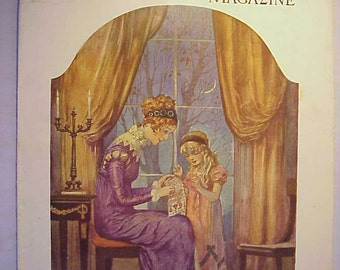 November 1934 Needlecraft the Home Arts Magazine for Women with cover art By Reginald P. Ward ,has 34 pages of ads and articles No. 2