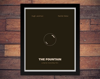 The Fountain by Darren Aronofsky - Minimal Movie Poster