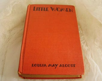 Antique NOVEL/LITTLE WOMEN/Louisa May Alcott
