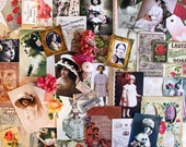 Vintage Rose Album Photos*Rose Inspiration Kit*Vintage Inspired Paper Pack with Embellishments