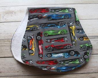 Hot Wheels Burp Cloth