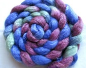 Merino/Tencel Roving (Combed Top) 4 oz Hand Painted
