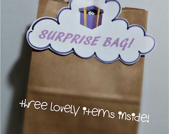 Surprise gift bag.