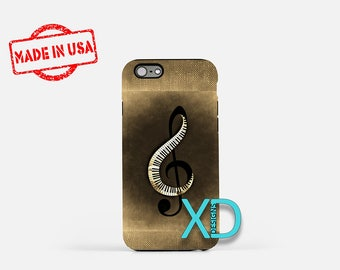 Treble Clef iPhone Case, Music iPhone Case, Treble Clef iPhone 8 Case, iPhone 6s Case, iPhone 7 Case, Phone Case, iPhone X Case, SE Case