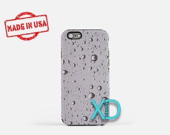 Raindrops iPhone Case, Storm iPhone Case, Raindrops iPhone 8 Case, iPhone 6s Case, iPhone 7 Case, Phone Case, iPhone X Case, SE Case