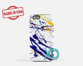 Paint iPhone Case, Artistic iPhone Case, Paint iPhone 8 Case, iPhone 6s Case, iPhone 7 Case, Phone Case, iPhone X Case, SE Case Protective