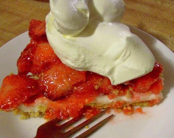 AMISH Country STRAWBERRY PIE Recipe!