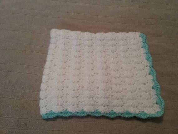 MADE To ORDER, Baby Blankets in your CHOICE of Colors,Crochet Stroller Blanket, Baby Shower Gift, Handmade Baby gift, Mother's Day Gift