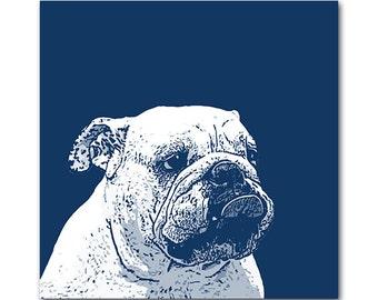 Custom dog portrait - Pop Art portrait with 2 / 3 colors - digital