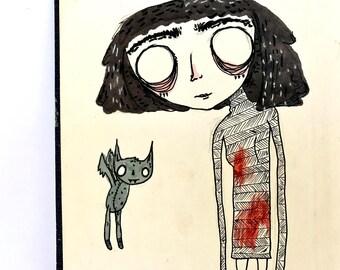 Good Friends - Original Illustration
