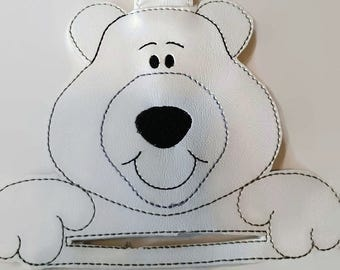 polar bear kitchen towel holder, towel topper