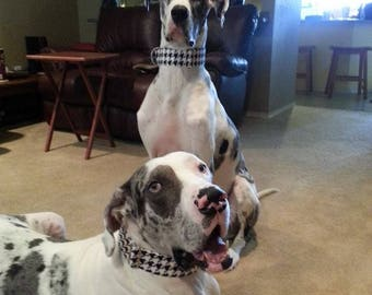 """Houndstooth Martingale or Quick Release Collar 5/8"""" Quick Release 3/4"""" 1"""" Martingale Collar, 1.5"""" Martingale Collar 2"""" Martingale Buckle"""