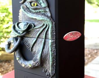 Card Deck Box-Magic the Gathering-Polymer Clay Dragon