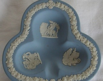 Wedgwood Blue Jasperware Figural Ashtray
