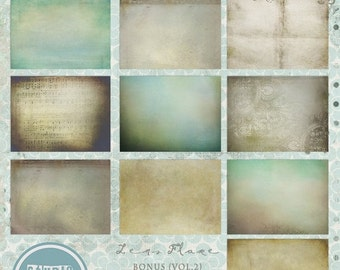 ON SALE Photoshop texture overlays vol.4 - INSTANT Download