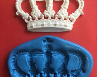 Crown silicone mould