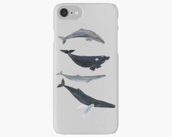 Whale iPhone 7 Case, whale iphone 6 case, whale iphone 5 case, iphone 7 plus case, ocean iphone 7 case, sea iphone 7 case, iphone 6 plus