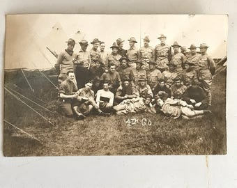 WW1 Military Post Card