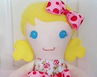 Lucy - 20 inch cloth doll