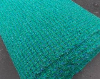 Vintage Genuine Harris Tweed Handwoven Scottish Wool Fabric 6 Plus Yards