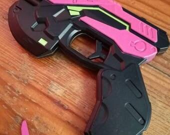 Overwatch D.Va gun laser pointer, overwatch miniature weapon, overwatch laser pointer