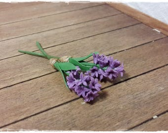 Hyacinth purple / 2 pieces