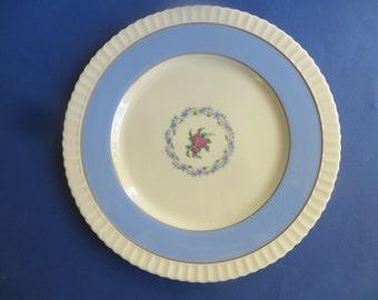 Lenox The Fairmount Dinner Plates Crimped Edge Pie Crust Edge Set of 3