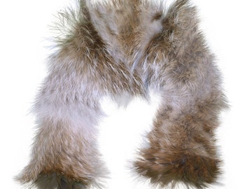 Glacier Wear Western Coyote Fur Ruff 24 Inches