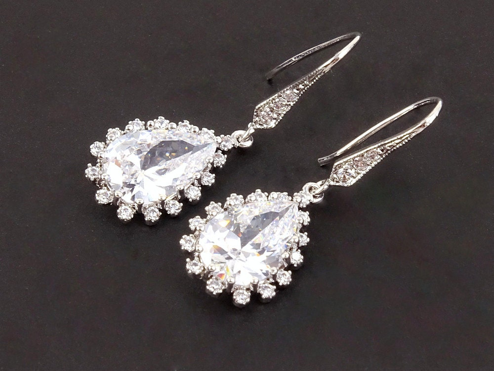 Bridesmaid Gift Wedding Jewelry Bridal Jewelry by Crystalshadow