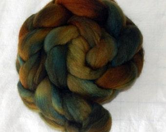 100% Polwarth fiber, Autumn Leaves, 4 ounces, 113 grams
