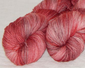 Let Me Show You My Heart on Mad Sock 75/25 SW merino and nylon sock yarn