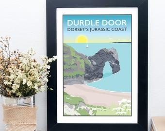 Durdle Door, Dorset's Jurassic Coast Print