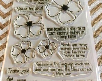 Kindness Stamp Set Sweet 'n Sassy Stamps