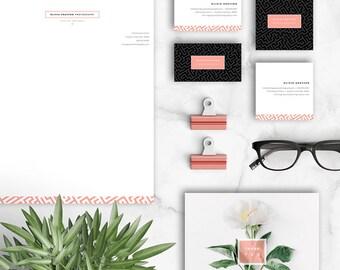 Photographer Marketing Set - Photography Branding Set - OLIVIA - 1631