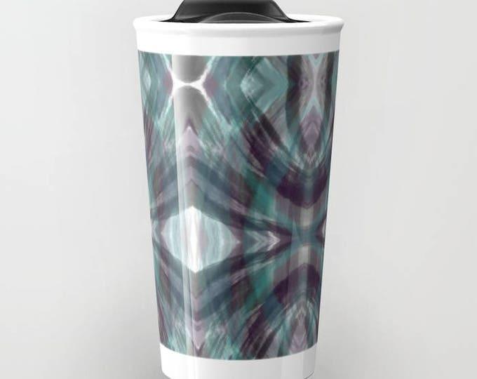 Travel Mug - Abstract Art Travel Mug - Coffee Travel Mug - Hot or Cold Travel Mug - 12oz Travel Mug - Made to Order