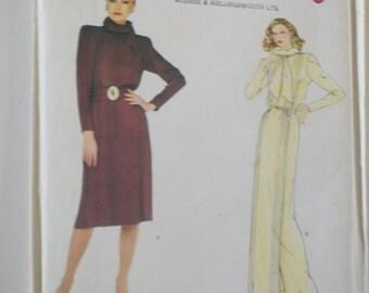 Vintage 70's/80's VOGUE PARIS ORIGINAL pattern designed by Christian Dior (2431) Size 10.